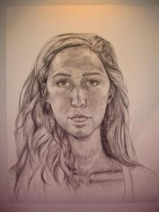 Self Portrat by Kira Tobin