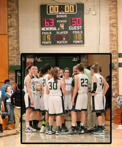 Girls beat East Thursday night!