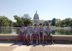 Memorial Competes at Its First Ever National Science Bowl in DC