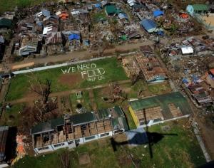 typhoon haiyan aftermath philippines